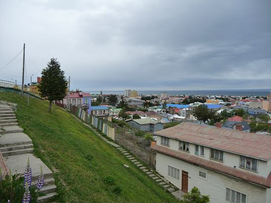 Punta Arenas at the Magellan Strait