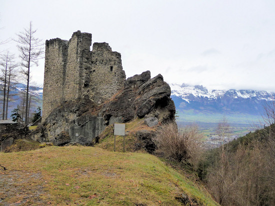 Ruins of the wild castle